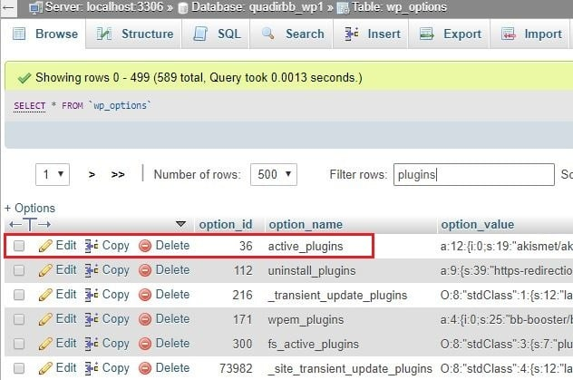 Deactivate All WordPress Plugins Without Admin Access cPanel