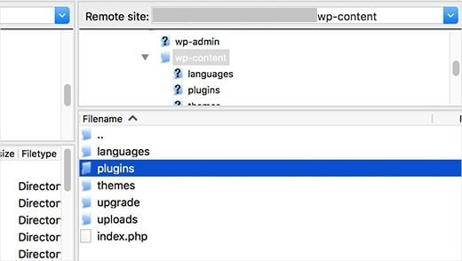 deactivate all wordpress plugins without wp admin access ftp