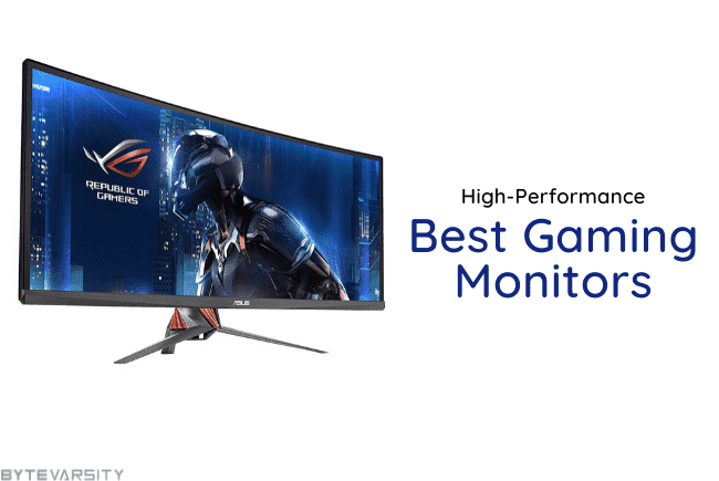 Best Gaming Monitors 2021: High-Performance Matters