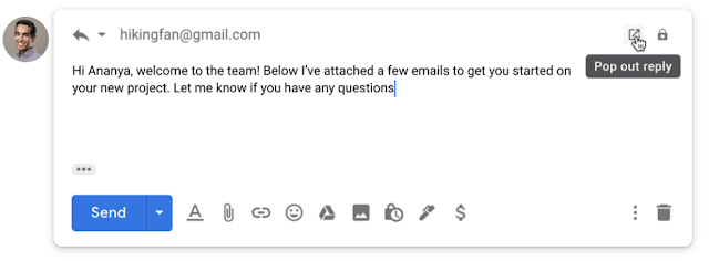 reply email with attachments in gmail