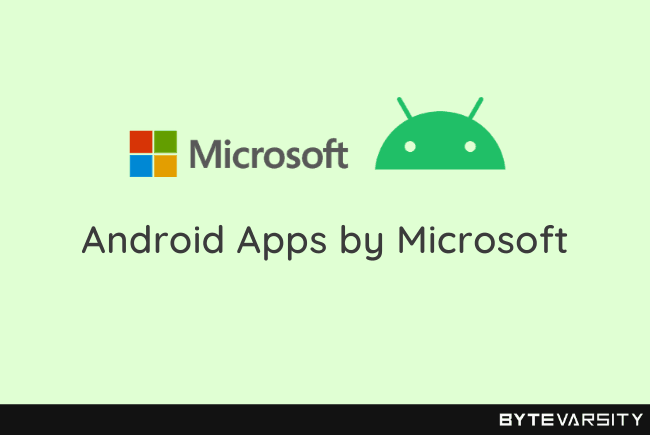 Top Android Apps by Microsoft in 2021