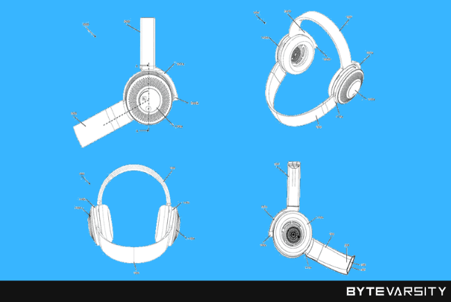 Dyson Patents a Pair of Headphones that Doubles as Air Purifier