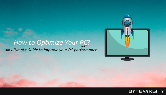 How to Optimize Your PC: Improve Speed & Overall Performance