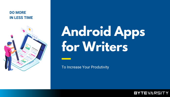 best android apps for writers