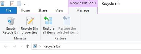 delete file permanently empty recycle bin