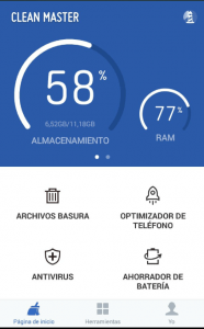 clean master app - boost your phone