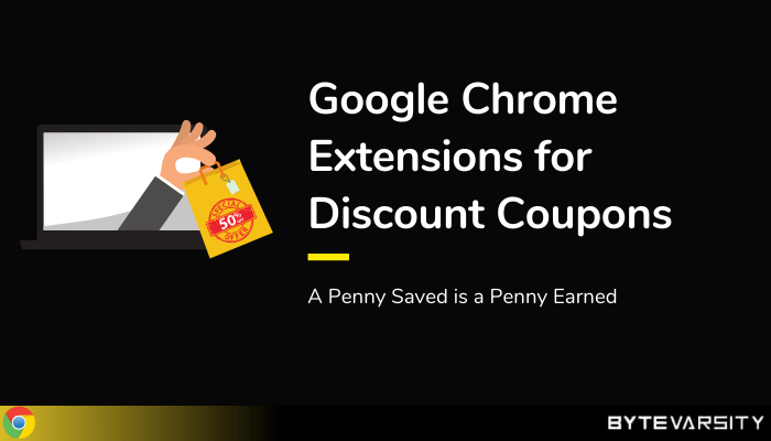 Chrome Extensions For Coupons