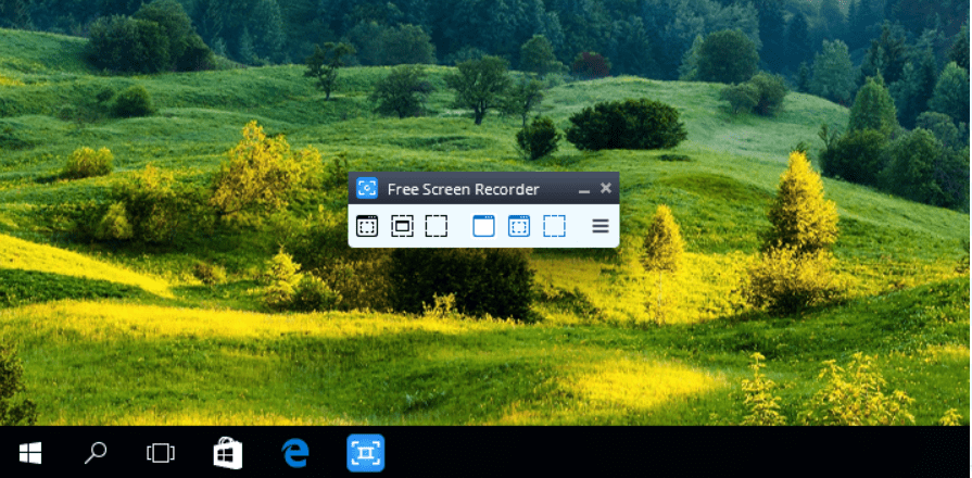 Free Screen exclusive free software for PC screen recording