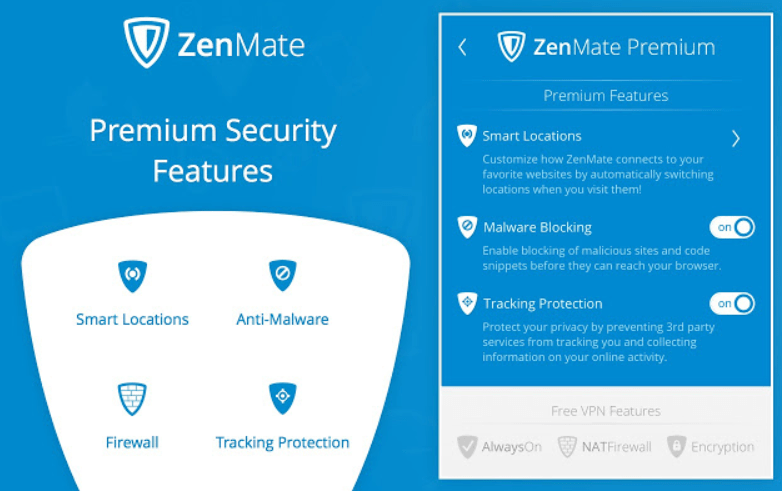 ZenMate - free VPN Chrome Extension