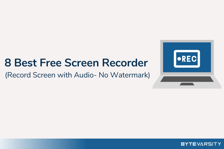 8 Best Free Screen Recorders for PC in 2020 [No Watermark]