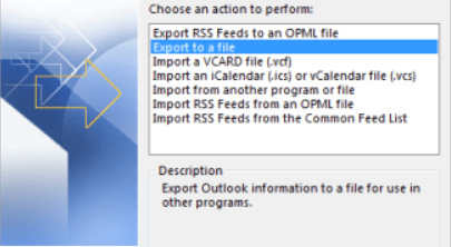 Easiy email backup & exporting by outlook