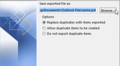 loacting files in outlook