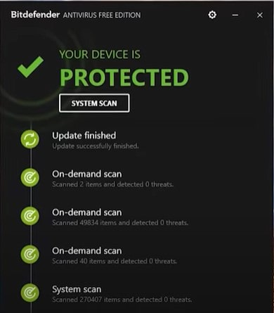 Bitdefender - a great cybersecurity  software for your system