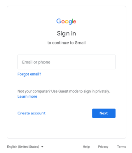 password recovery tool in gmail