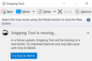 Snip & Sketch, formerly called Screen Sketch, is more comfortable to use and makes it easier to share screenshots.