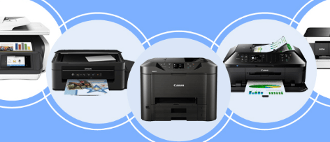 Print documents while working remotely with one click