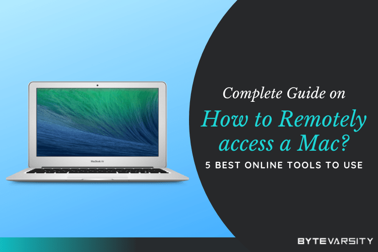 How to Remotely access a Mac