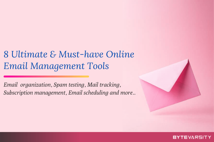 Online Email Management Tools
