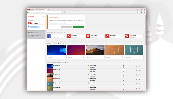 AnyDesk is the most versatile remote desktop software available for every platform