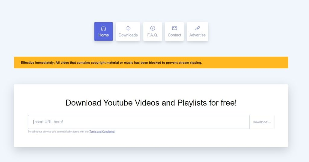 Download YouTube videos & playlists for free from ddownr in high quality