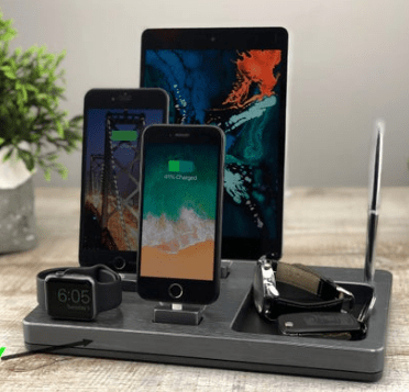 Wireless Charging Station For efficient and instant work at your remote office