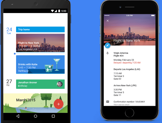 Google calendar features