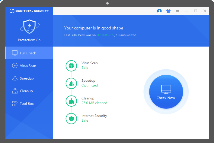 360 Security checks your Android gadget for infections, malware, and framework vulnerabilities