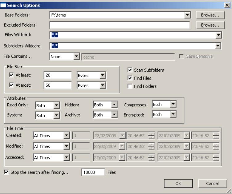 SearchMyFile locates & deletes duplicates file for free