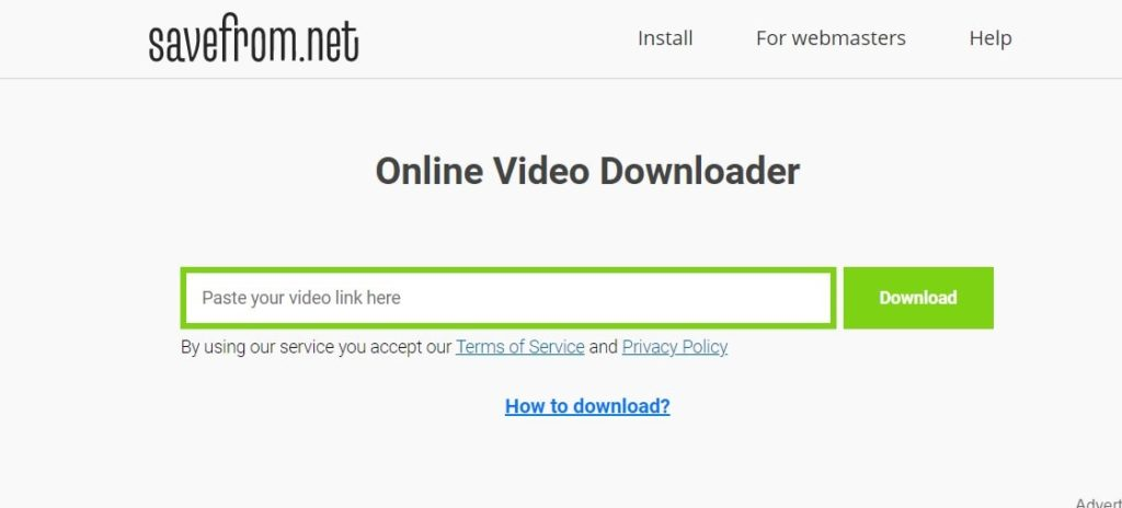 Download YouTube Videos Without Any Software from savefrom.net - 2 Ways