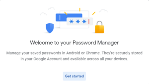 Recover & save gmail password
