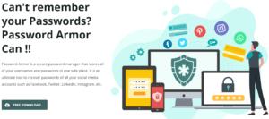 Password Armor to recover gmail password