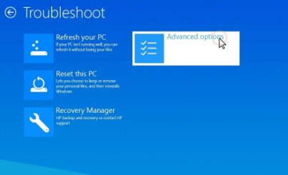 Reset laptop using Safe Mode