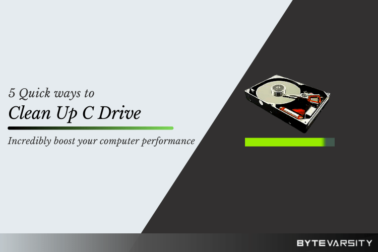 How to Clean Up C Drive? 5 Quick Ways