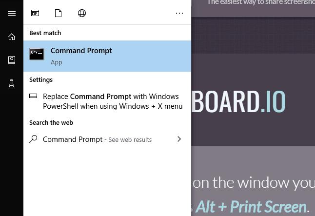 Command Prompt Window - Block WiFi Network