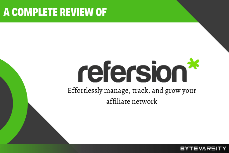Refersion Review- Features, Alternatives, and Use