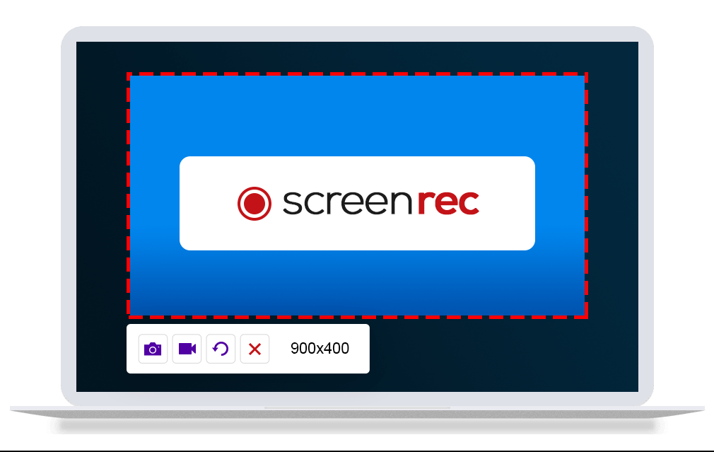 ScreenRec is a free, lightweight screen recorder software that allows you to record your screen or take a screenshot