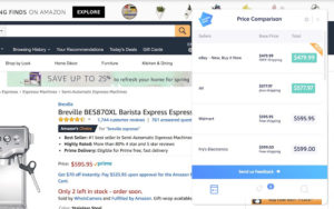 InvisibleHand best shopping chrome extension to save money