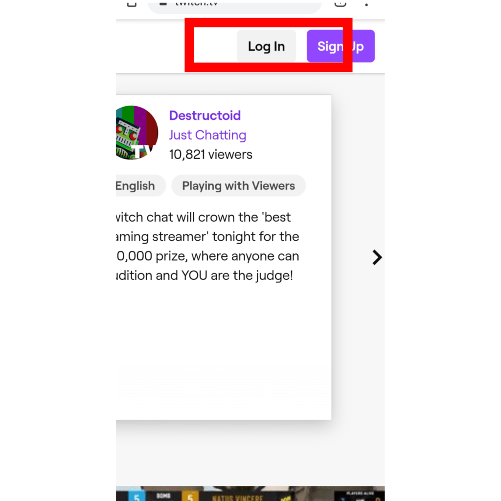 create twitch account mobile, delete twitch on android