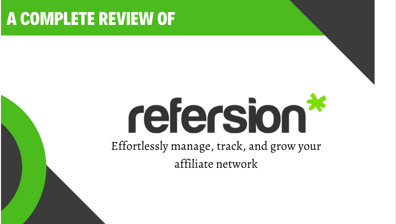 Refersion Review