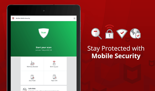 Guard your cell phone with McAfee Mobile Security, accessible on Android gadgets.