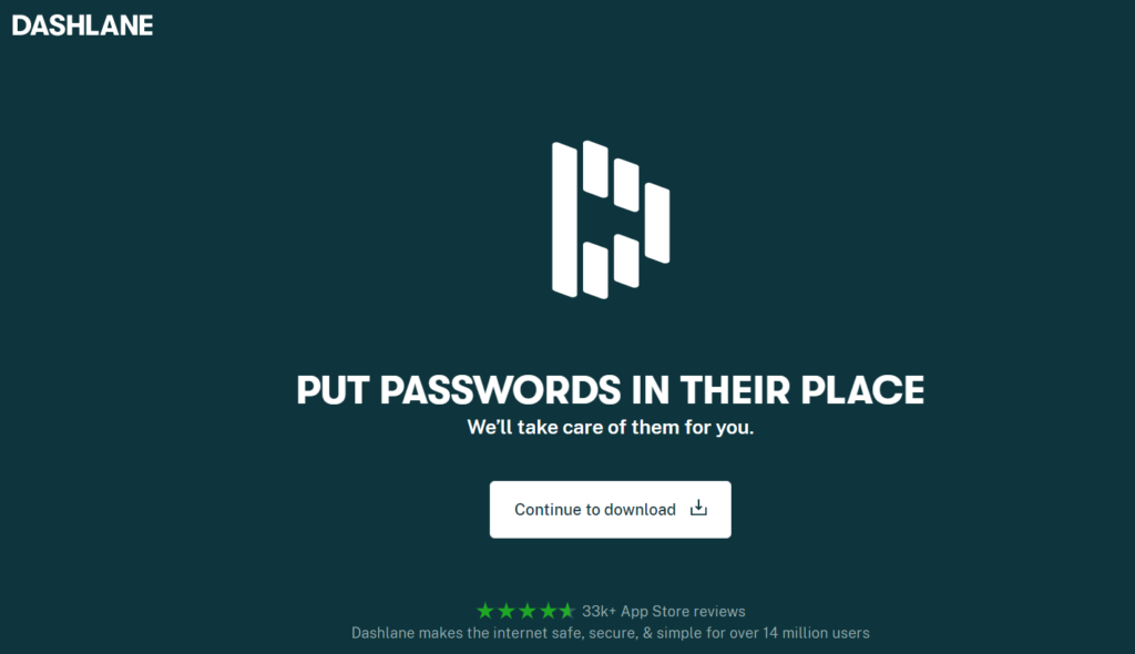 Keep your Passwords safe and protected in DashLane