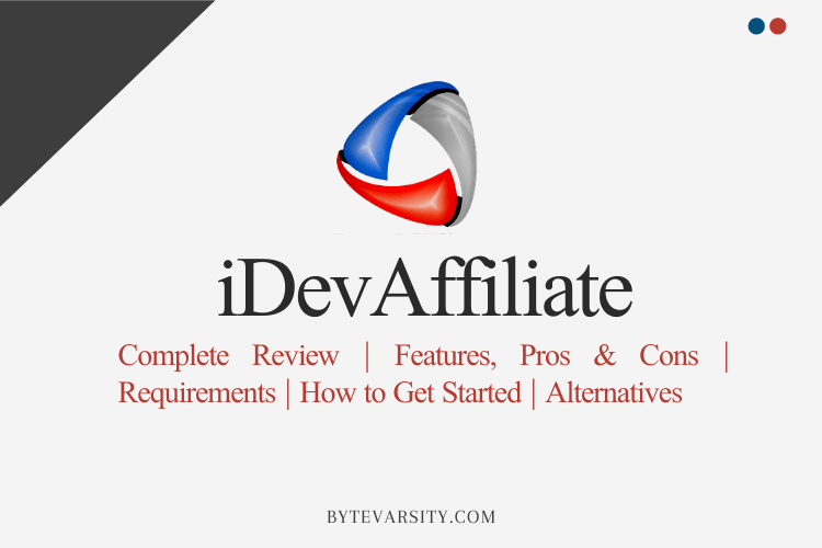 iDevAffiliate – One of the Best Affiliate Tracking Software?
