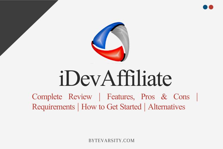 iDevAffiliate Review