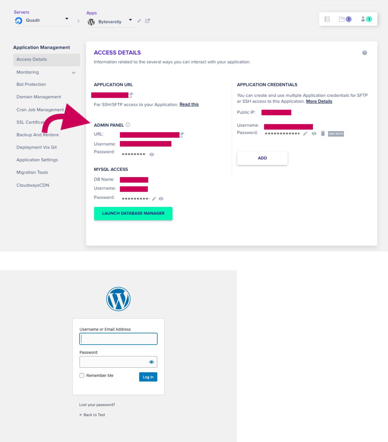 Setup Cloudways and WordPress