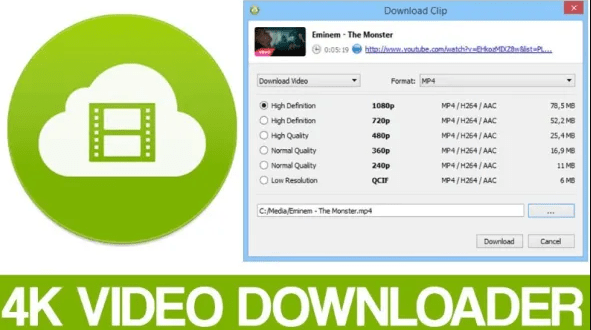 4K video downloader to download YouTube videos for free up to 8K