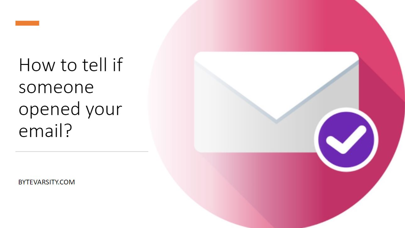 how to tell if someone opened your email