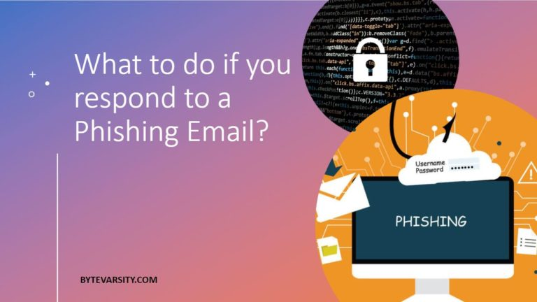 What to do if you respond to a Phishing Email? [5 Important Steps to take]