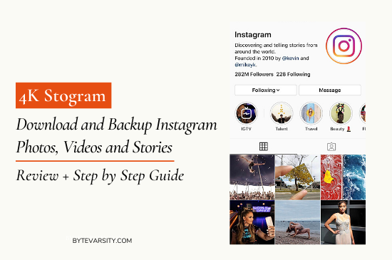How to download Instagram photos and videos using 4k stogram