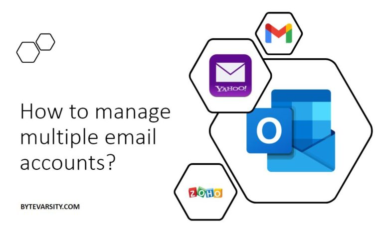 How to manage multiple email accounts? [5 Effective Ways]