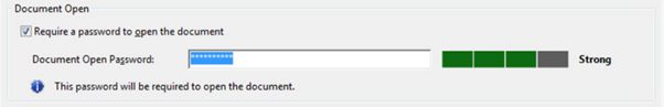 Password for the document - Adobe Acrobat Reader
